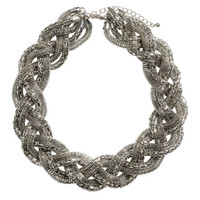 Braided Necklace - from H&M
