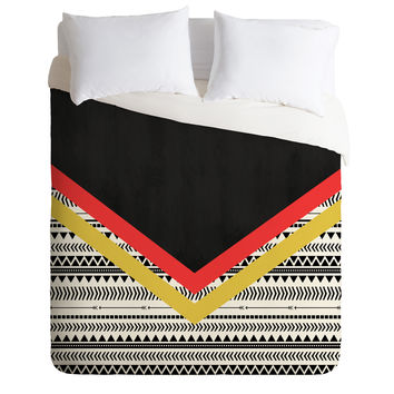Allyson Johnson Mixed Aztec 2 Duvet Cover