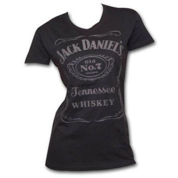 Jack Daniels Women's Daniel's Label T-Shirt - 15361476Jd-89
