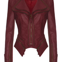 PULP - Red leatherette jacket