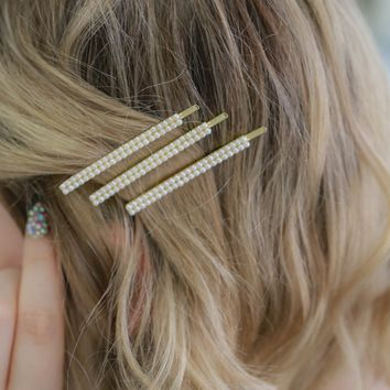 Dearest Darling Hair Pins