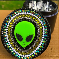 GRINDER -- Tops -- Striped Alien Top