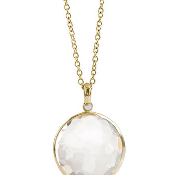 Ippolita 18k Gold Rock Candy Lollipop Pendant Necklace