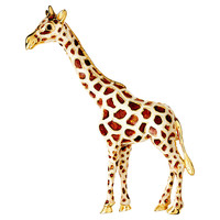 Classic Giraffe Pin, Brooches & Pin/Pendants