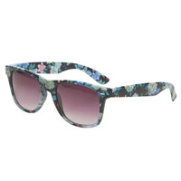 Matte Floral Sunglasses | Wet Seal