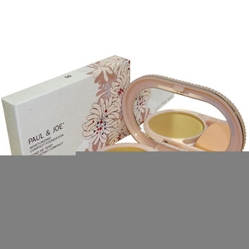 Paul & Joe Beaute Moisturizing Compact Foundation 0.28 oz Caramel 50