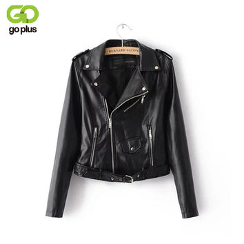 2017 New Fashion Autumn Winter Women Brand ladies leather jacket Washed PU Leather Jacket Bright Colors Zippers Motorcycle Coat