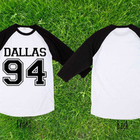 Limited  Rare dallas 94 Baseball T shirt, Raglan T shirt, Unisex T shirt, Adult T shirt