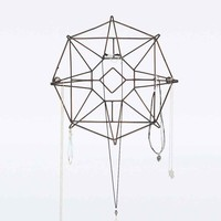 Star Jewellery Stand in Brass - Urban Outfitters