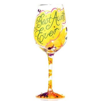 Lolita Wine Glass Best Aunt Ever