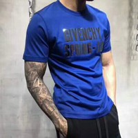 Givenchy summer new men and women with the same tide brand short-sleeved T-shirt F-YF-MLBKS
