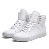 SUPRA SKYTOP | WHITE - WHITE | Official SUPRA Footwear Site