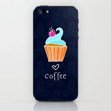 Love Coffee iPhone & iPod Skin by Anchobee