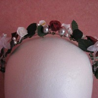Flower Fairy bridal headband