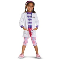 Disney Doc McStuffins Deluxe Costume - Toddler/Kids (White)