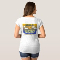 Smile! It's another great day to praise God! Maternity T-Shirt
