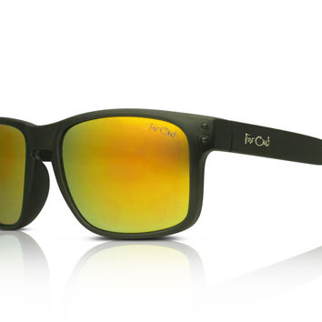 Mavericks Black - Yellow Lens