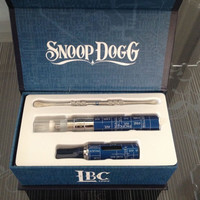 Burning dry Herb vaporizer herbal vape cheap electronic cigarette kit snoop dogg G pen gift box case e-cigarette G-pen