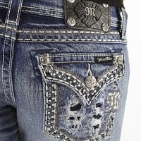 Miss Me Glitz Boot Stretch Jean - Women's Jeans | Buckle