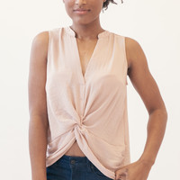 Knot Over You Top - Taupe