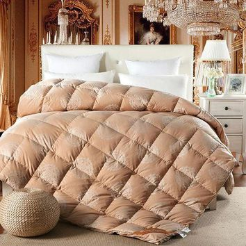 ESB1ON Papa&Mima noble mandala print duck/goose down winter comforter quilting duvet 100% cotton blankets Twin/Queen/King size quilt
