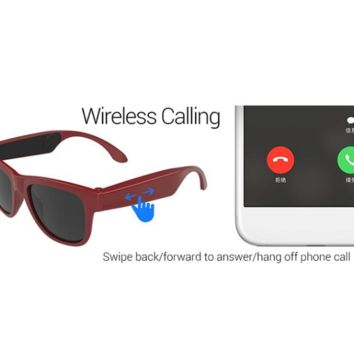 Sunglasses or Prescription Glasses, Bluetooth, Headphones, Hands-Free Voice Control All-In-One