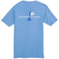 Cast Net Tee in Ocean Channel by Southern Tide