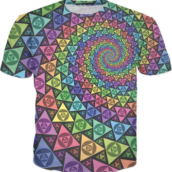 Fractal Triangles T-Shirt