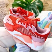 shosouvenir PUMA RS-X Toys Retro Macaron Stripe Thick-soled Daddy Shoes