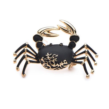 Feeling Crabby Brooch