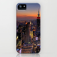 NEW YORK, NEW YORK iPhone Case by Julie Qiu | Society6