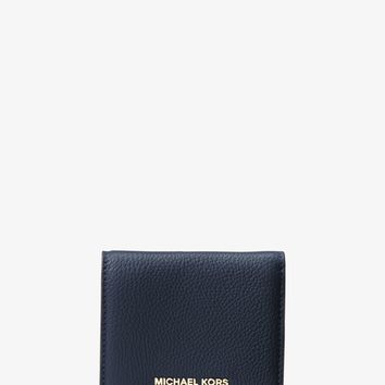Mercer Leather Card Case | Michael Kors