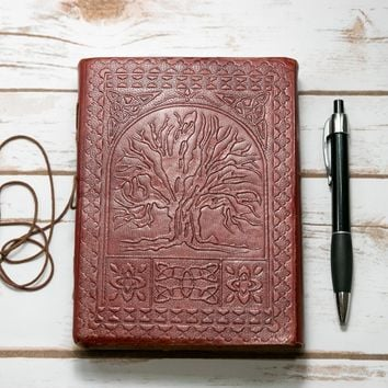 *Tree Of Life Handmade Leather Journal_