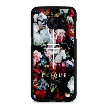 Twenty One Pilots Skeleton Clique 2 Samsung Galaxy S7 Edge Case