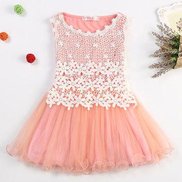 Toddler Dress with Lace