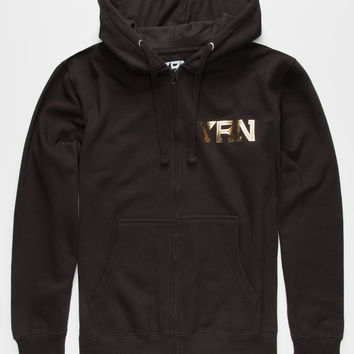 Yrn Rich Nation Mens Hoodie Black  In Sizes