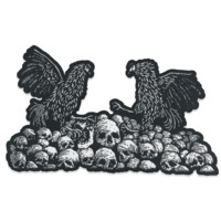Machismo Bird And Skull Patch