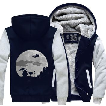 Moon Light, My Neighbour Totoro Fleece Jacket