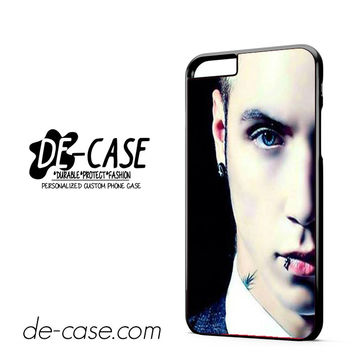 Andy Biersack Black Veil Brides Half Face DEAL-765 Apple Phonecase Cover For Iphone 6 / 6S Plus