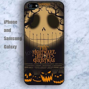 skull Halloween Pumpkin iPhone 5/5S case Ipod Silicone plastic Phone cover Waterproof