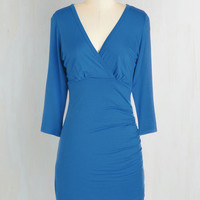 Mid-length 3 Sheath Simple as That Dress by ModCloth