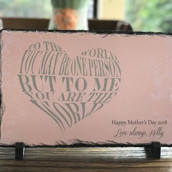 Handmade Mother's Day Sign
