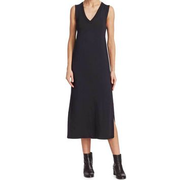 Rag & Bone Phoenix Vee Black Knit Dress