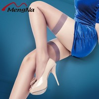 Women's Stockings Thin  For Girls Over The Knee Sexy Striped Stockings Prevent Slipping Anti Hook Silk Woman Solid Stockings