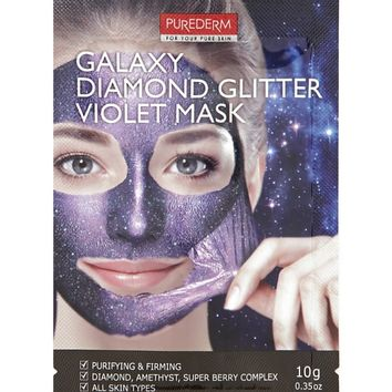 Purederm Diamond Glitter Violet Peel-Off Mask