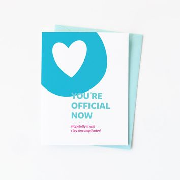 Official Now greeting card