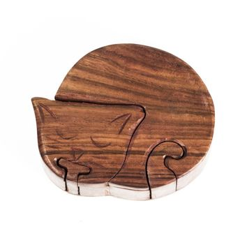Sleeping Cat Puzzle Box - Matr Boomie (B)