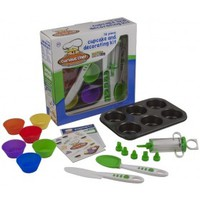 Curious Chef TCC50165 Cupcake And Decorating Kit
