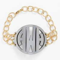 Women's Moon and Lola 'Annabel' Large Personalized Monogram Bracelet
