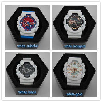 Top quality relogio G*110 box men's sports watches